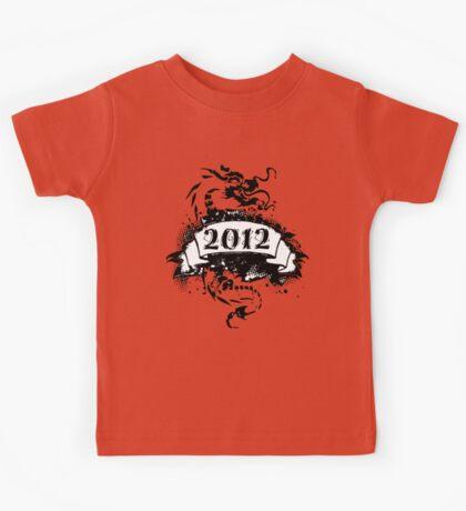 2012 - Black Dragon T-shirt Kids Tee