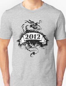 2012 - Black Dragon T-shirt Unisex T-Shirt