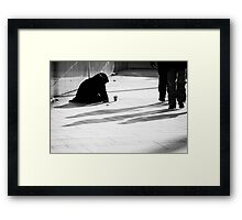 excluded IV Framed Print