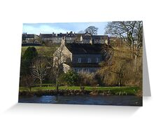Cottage by the River Greeting Card