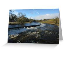 The River Wharfe - Grassington Greeting Card