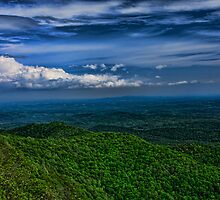 North Carolina Mountain Vista by KRphotog