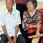 Old chinese couple observe by jacobmoss