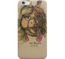 Zombie Piggy iPhone Case/Skin