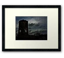 Churches of sly Framed Print
