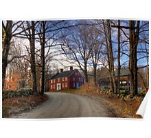 Red House on the Hill Poster