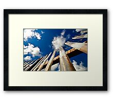 Freedom; Restricted Framed Print