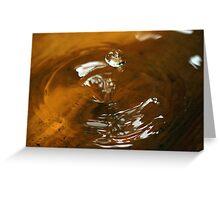 bubble series - two Greeting Card