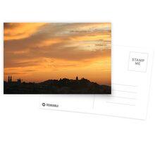 San Francisco sunset  Postcards