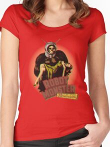 Robot Monster Women's Fitted Scoop T-Shirt