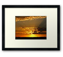 God's Love and Affection (best viewed larger~!) Framed Print