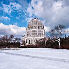 Baha'i Temple, Winter by James Watkins