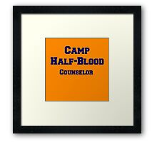 Camp Half-Blood Counselor Framed Print