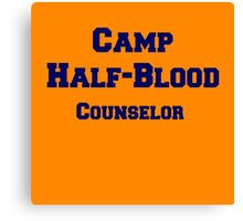 Camp Half-Blood Counselor Canvas Print