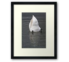Does my butt look big? Framed Print
