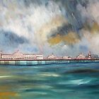 Brighton pier by Ivor