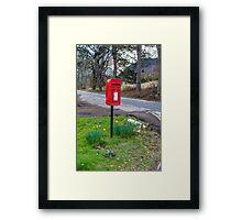 Highland Mail Framed Print