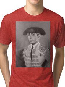 """MANOLETE 1947"" Tri-blend T-Shirt"