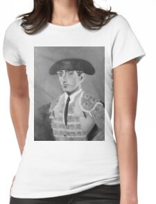 """""""MANOLETE 1947"""" Womens Fitted T-Shirt"""