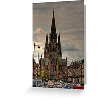 St Mary's Episcopal Cathedral Greeting Card