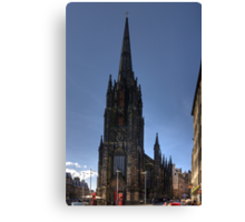 The top of the High Street Canvas Print