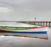 Long Jetty boat by Christina Brunton