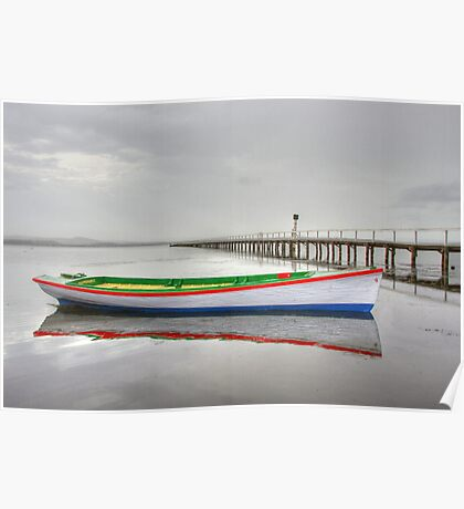 Long Jetty boat Poster