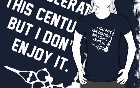 I tolerate this century by nimbusnought