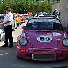 Porsche 911 Ready To Race by Pete  Burton