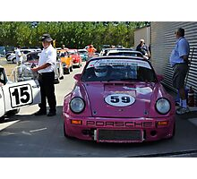 Porsche 911 Ready To Race Photographic Print