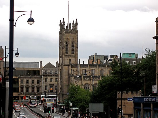 Lothian Road on a Grey Day by Tom Gomez