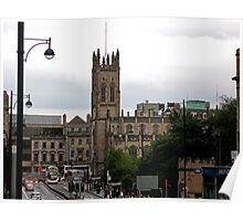 Lothian Road on a Grey Day Poster