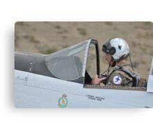 P51 Mustang Pilot Canvas Print