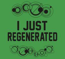 I just regenerated.  Kids Clothes