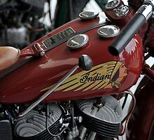 Indian Motorcycle by Pete  Burton