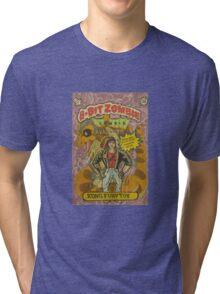 Kung fury 8bit zombie Tri-blend T-Shirt