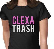 Clexa Trash Womens Fitted T-Shirt