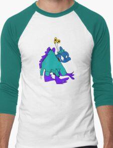 My monster friend Men's Baseball ¾ T-Shirt