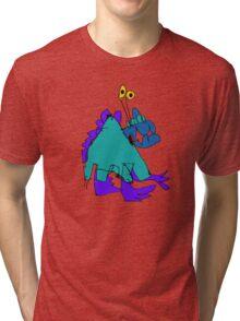 My monster friend Tri-blend T-Shirt