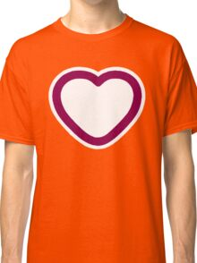 Big Love Heart - Art deco T-shirt Classic T-Shirt