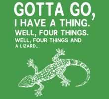Four things and a lizard Kids Clothes