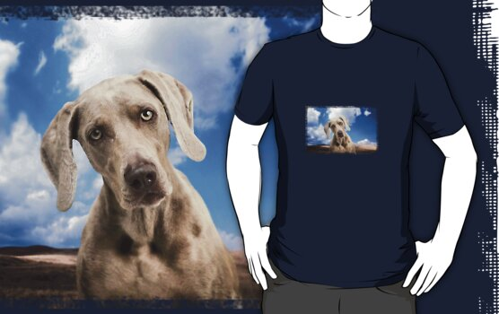 Love Hound T-Shirt by Andrew Bret Wallis