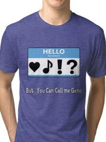 Geno fan shirt Tri-blend T-Shirt