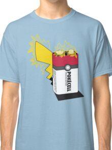 Pokecell Pikachu Battery Classic T-Shirt