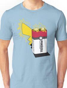 Pokecell Pikachu Battery Unisex T-Shirt