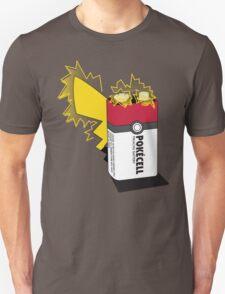 Pokecell Pikachu Battery T-Shirt
