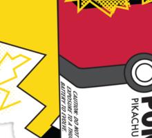 Pokecell Pikachu Battery Sticker
