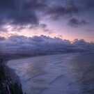 Purple Sunrise by Mari  Wirta