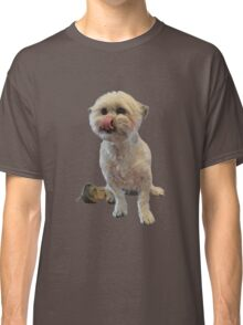 Cute licking puppy. Classic T-Shirt