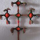 Huichol Cross - Cruz Huichol by PtoVallartaMex